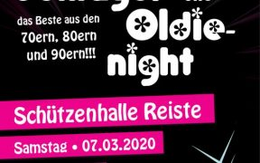 Schlager & Oldie Night in Reiste