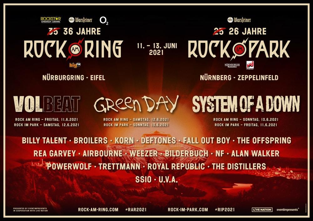 Rock am Ring 2021 Headliner