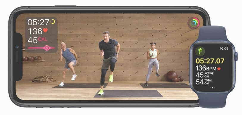 Apple Keynote Neuigkeiten 2020: Apple Fitness+ (Quelle: Apple)